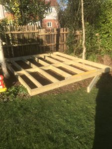 Decking Swanage Feb18 Coldharbour Fencing & Landscaping Bournemouth Poole Dorchester Bare Regis, Blandford Forum, Christchurch, Corfe Castle, East Stoke, Parkstone, Swanage